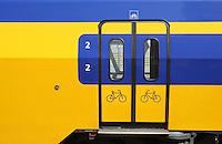 Train at Cetral Station in Arnhem,Netherlands