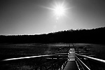 January 21, 2008. Bahama, NC.. Photos of Lake Michie, the main reservoir for the city of Durham, NC.