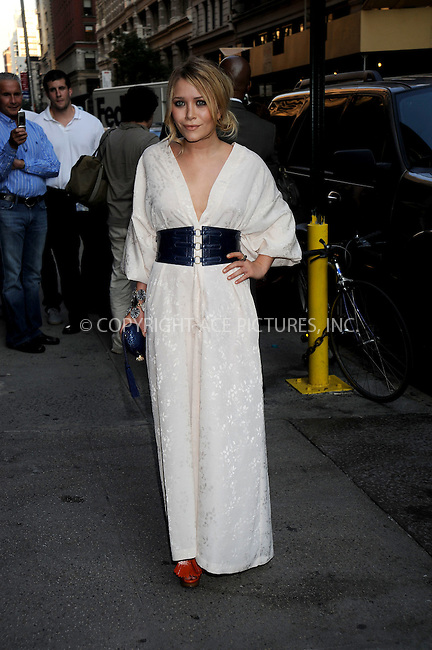 WWW.ACEPIXS.COM . . . . .....June 25, 2008. New York City.....Actress Mary-Kate Olsen arrive at the 'Wackness' premiere held at at AMC Loews 19th Street on June 25, 2008 in New York City...  ....Please byline: Kristin Callahan - ACEPIXS.COM..... *** ***..Ace Pictures, Inc:  ..Philip Vaughan (646) 769 0430..e-mail: info@acepixs.com..web: http://www.acepixs.com