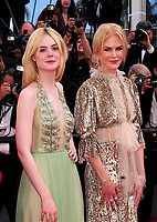 www.acepixs.com<br /> <br /> May 21 2017, Cannes<br /> <br /> Actresses Nicole Kidman (R) and Elle Fanning arriving at a screening of 'How To Talk To Girls At Parties' during the 70th annual Cannes Film Festival at on May 21, 2017 in Cannes, France. <br /> <br /> By Line: Famous/ACE Pictures<br /> <br /> <br /> ACE Pictures Inc<br /> Tel: 6467670430<br /> Email: info@acepixs.com<br /> www.acepixs.com