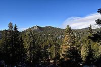 Clouds over San Jacinto Mountains