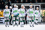 Stockholm 2014-03-05 Bandy SM-semifinal 3 Hammarby IF - V&auml;ster&aring;s SK :  <br /> V&auml;ster&aring;s Johan Esplund och V&auml;ster&aring;s Janne Rintala ser nedst&auml;mda ut efter slutsignalen<br /> (Foto: Kenta J&ouml;nsson) Nyckelord:  VSK Bajen HIF depp besviken besvikelse sorg ledsen deppig nedst&auml;md uppgiven sad disappointment disappointed dejected