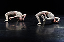 "James Cousins Company presents a triple bill of duets, under the title ""Epilogues"", at The Place. The piece shown is: ""The Secret of Having it All"". The dancers are: George Frampton and Jemima Brown."