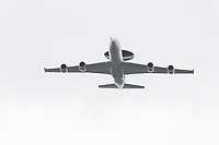 Boeing E-3D Sentry, AWACS<br /> RAF centenary fly-past at Buckingham Palace, The Mall, London England on July 10, 2018.<br /> CAP/PL<br /> &copy;Phil Loftus/Capital Pictures