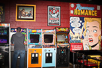 The Baxter Bar and Arcade in Chapel Hill, North Carolina on Sunday, January 25, 2015. (Justin Cook)