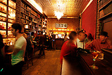 USA, California, San Francisco, Bourbon and Branch, a speakeasy where guests can have a glimpse back on the 1920's and the days of Prohibition