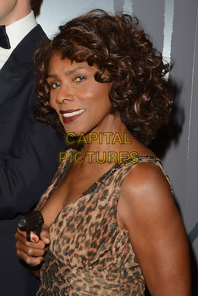 HOLLYWOOD, CA - DECEMBER 15: Gloria Hendry at the unveiling of six James Bond wax figures at Madame Tussauds on December 15, 2015 in Hollywood, California. <br /> CAP/MPI/DE<br /> &copy;DE//MPI/Capital Pictures
