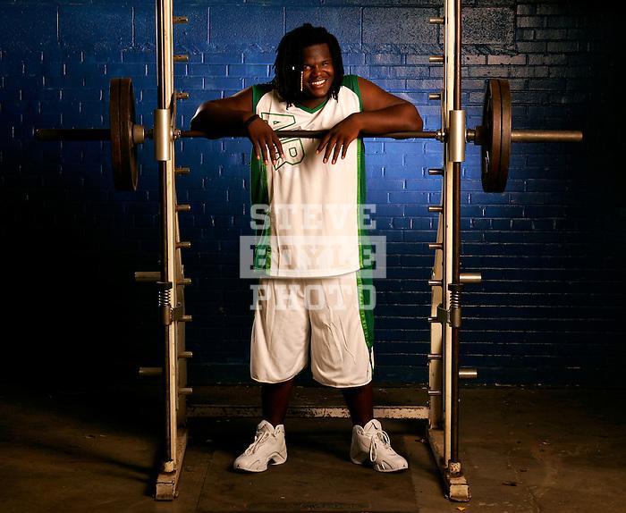 Ballou Senior High School football player Marvin Austin on July 11, 2006 in Washington, DC.