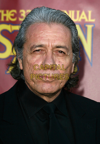 EDWARD JAMES OLMOS.33rd Annual Saturn Awards presented by the Academy Of Science Fiction, Fantasy and Horror Films held at the Universal City Hilton Hotel,Universal City, California, USA, 10 May 2007..portrait headshot.CAP/ADM/CH.©Charles Harris/AdMedia/Capital Pictures.