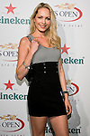 Maria Helena Vianna arrives at the US Open Player Party at The Empire Hotel, August 27, 2010.
