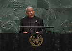 72 General Debate &ndash; 20 September <br /> <br /> <br /> <br /> His Excellency David Arthur Granger, President of the Republic of Guyana