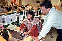 INDIA, Mumbai, Tata Consultancy Service TCS, BPO, callcenter and software programming