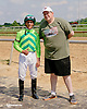 Jevian Toledo and fans at Delaware Park on 7/26/14
