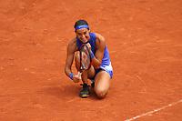 Joie Caroline Garcia (FRA)<br /> Tennis Roland Garros 2017 <br /> Foto Antoine Couvercelle / Panoramic / Insidefoto <br /> ITALY ONLY