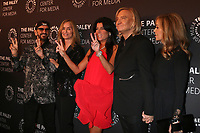 "LOS ANGELES - OCT 25:  Sir Ringo Starr, Barbara Bach, Maureen J Reidy, Joe Walsh, Marjorie Bach at ""The Paley Honors: A Gala Tribute to Music on Television"" at the Beverly Wilshire Hotel on October 25, 2018 in Beverly Hills, CA"