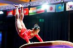 Soyoka Hanawa (JPN), <br /> AUGUST 21, 2018 - Artistic Gymnastics : <br /> Women's Individual All-Around Vault <br /> at JIEX Kemayoran Hall D <br /> during the 2018 Jakarta Palembang Asian Games <br /> in Jakarta, Indonesia. <br /> (Photo by Naoki Nishimura/AFLO SPORT)