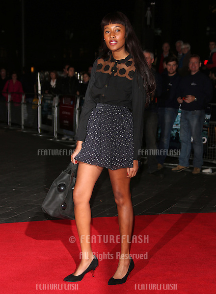 VV Brown at the 56th BFI London Film Festival: Argo - Accenture gala, held at the Odeon Leicester Square. 17/10/2012 Picture by: Henry Harris / Featureflash