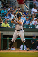 Steve Baron (8) of the Jackson Generals bats during a game between the Jackson Generals and Chattanooga Lookouts at AT&T Field on May 7, 2015 in Chattanooga, Tennessee. (Brace Hemmelgarn/Four Seam Images)