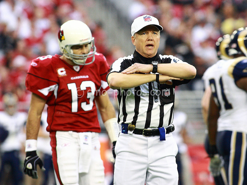 Dec 07, 2008; Glendale, AZ, USA; \tpstlXn \tpariXn in the third/fourth quarter of a game against the \stl \ari at University of Phoenix Stadium.  The Cardinals won the game 34-10 to clinch the NFW West Division Championship.  Mandatory Credit: Chris Morrison-US PRESSWIRE