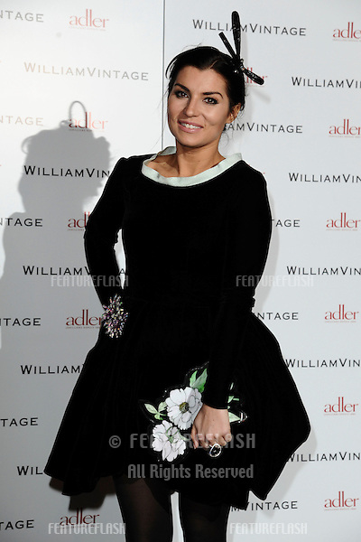 Grace Woodward arriving for the William Vintage dinner at the Renaissance Hotel St Pancras, London. 10/02/2012 Picture by: Steve Vas / Featureflash