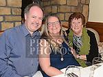 Mark, Genn and Ann Gonnelly at The Night At The Opera in Linn Duchaill restaurant at The Glyde Inn Annagassan. Photo:Colin Bell/pressphotos.ie