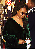 Actress Whoopi Goldberg waits to be announced at the State Dinner in honor of King Juan Carlos I of Spain at the White House in Washington, D.C., February 23, 2000..Credit: Ron Sachs / CNP