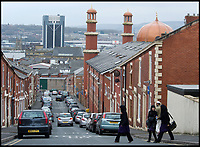 BNPS.co.uk (01202 558833)<br /> Pic: HistoricEngland/BNPS<br /> <br /> Masjid e Tauheedul Islam in Blackburn, Lancashire<br /> <br /> A new book from Historic England reveals the spread of Mosque building across Britain.<br /> <br /> The book provide a fascinating insight into the diversity of Britain's 1,500 mosques.<br /> <br /> They range from humble house conversions where small groups gather to magnificent purpose-built complexes which can accommodate thousands of worshippers.<br /> <br /> Architect Shahed Saleem, who has designed a mosque in Hackney, east London, has produced the first comprehensive overview of Islamic architecture on these shores in his new book, The British Mosque.