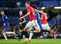 Nemanja Matic of Manchester United in action during Chelsea vs Manchester United, Premier League Football at Stamford Bridge on 17th February 2020