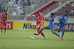 Lekhwiya vs Al Hilal during the 2015 AFC Champions League Quarter Final 1st Leg match on September 15, 2015 at the Abdullah Bin Khalifa Stadium in Doha, Qatar. Photo by Adnan Hajj / World Sport Group
