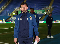 Blackburn Rovers' Danny Graham pictured before the match <br /> <br /> Photographer Andrew Kearns/CameraSport<br /> <br /> The EFL Sky Bet Championship - Reading v Blackburn Rovers - Wednesday 13th February 2019 - Madejski Stadium - Reading<br /> <br /> World Copyright © 2019 CameraSport. All rights reserved. 43 Linden Ave. Countesthorpe. Leicester. England. LE8 5PG - Tel: +44 (0) 116 277 4147 - admin@camerasport.com - www.camerasport.com