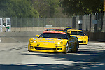 1 September 2007: The Corvette Racing C6.R driven by Jan Magnussen (DNK) and Johnny O' Connell (USA) at the Detroit Sports Car Challenge presented by Bosch, Detroit, MI
