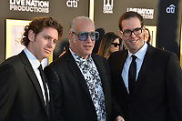 LOS ANGELES, CA. September 24, 2018: Andrew Dice Clay, Max Silverstein &amp; Dylan Silverstein at the Los Angeles premiere for &quot;A Star Is Born&quot; at the Shrine Auditorium.<br /> Picture: Paul Smith/Featureflash