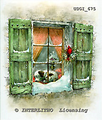 GIORDANO, CHRISTMAS ANIMALS, WEIHNACHTEN TIERE, NAVIDAD ANIMALES, paintings+++++,USGI675,#XA#