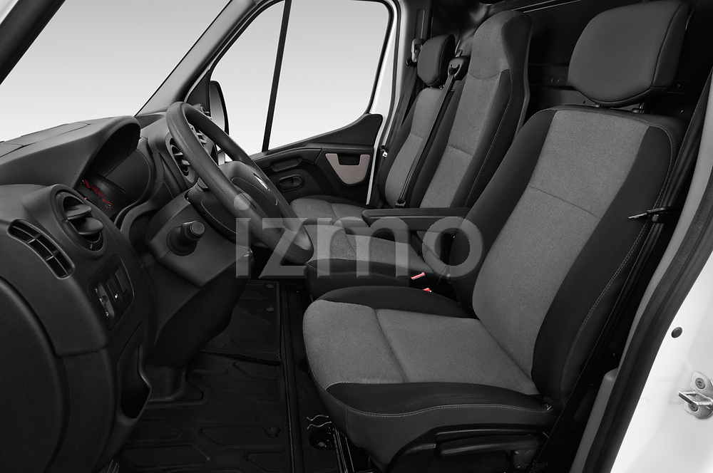Front seat view of a 2019 Renault Master L3h2 4 Door Cargo Van front seat car photos