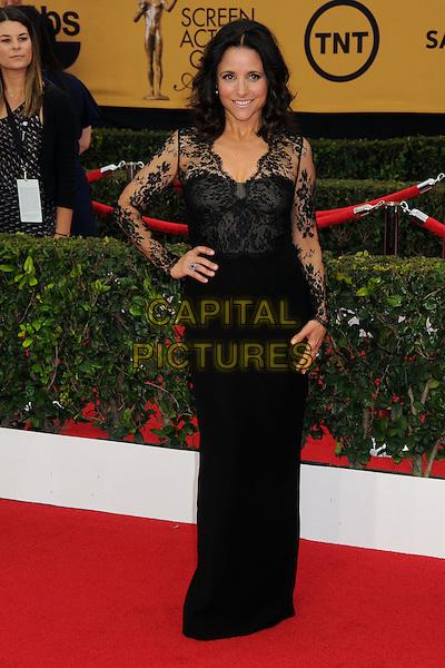 25 January 2015 - Los Angeles, California - Julia Louis-Dreyfus. 21st Annual Screen Actors Guild Awards - Arrivals held at The Shrine Auditorium. <br /> CAP/ADM/BP<br /> &copy;BP/ADM/Capital Pictures