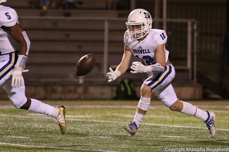 Boswell loses to Granbury 42-10 in 3-5A high school football on Friday, October 18, 2019.(Photo by Khampha Bouaphanh)