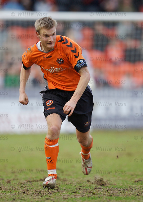 Christian Kalvenes, Dundee Utd.stock season 2006-2007.pic willie vass