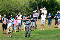 Padraig Harrington (IRL) on the 9th during the 1st round of the 2017 Portugal Masters, Dom Pedro Victoria Golf Course, Vilamoura, Portugal. 21/09/2017<br /> Picture: Fran Caffrey / Golffile<br /> <br /> All photo usage must carry mandatory copyright credit (&copy; Golffile | Fran Caffrey)