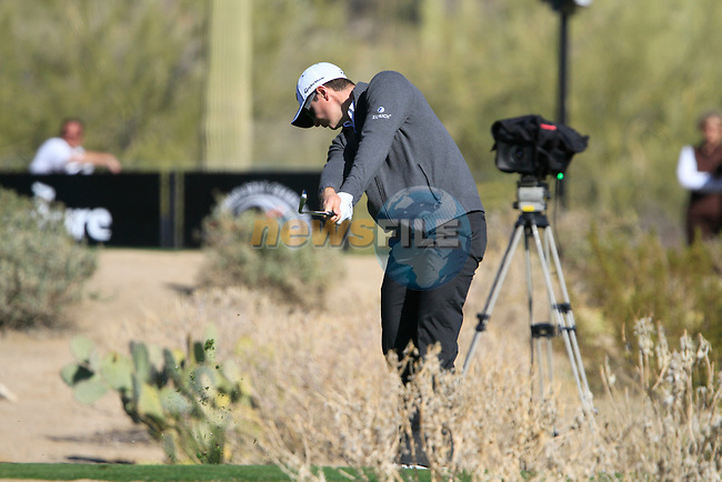 Justin Rose (ENG) in action on the 16th hole during Day 2 of the Accenture Match Play Championship from The Ritz-Carlton Golf Club, Dove Mountain, Thursday 24th February 2011. (Photo Eoin Clarke/golffile.ie)