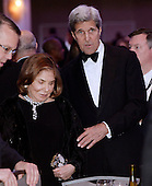 United States Secretary of State John Kerry with his wife Teresa Heinz Kerry attend the White House Correspondents' Association annual dinner on April 30, 2016 at the Washington Hilton hotel in Washington.This is President Obama's eighth and final White House Correspondents' Association dinner.<br /> Credit: Olivier Douliery / Pool via CNP