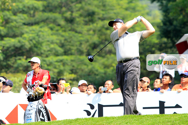 Ernie Els (RSA) on the 6th tee on Day 3 of the 2012 HSBC Champions, Mission Hills Golf Club, Shenzhen, China. 3/11/12..(Photo www.golffile.ie)