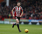 Jack O'Connell of Sheffield Utd during the English League One match at Bramall Lane Stadium, Sheffield. Picture date: December 31st, 2016. Pic Simon Bellis/Sportimage