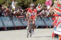 Joaquin Purito Rodriguez during the stage of La Vuelta 2012 between Palas de Rei and Puerto de Ancares.September 1,2012. (ALTERPHOTOS/Acero) /Nortephoto.com<br /> <br /> **CREDITO*OBLIGATORIO** <br /> *No*Venta*A*Terceros*<br /> *No*Sale*So*third*<br /> *** No*Se*Permite*Hacer*Archivo**<br /> *No*Sale*So*third*