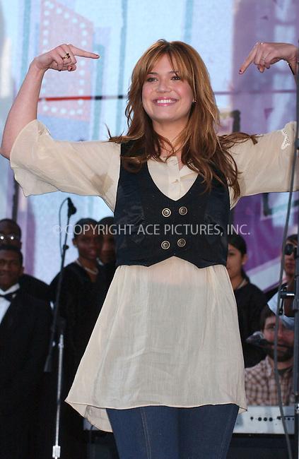 WWW.ACEPIXS.COM . . . . .....May 5, 2007. New York City.....Actress/singer Mandy Moore attends the EIF Revlon Annual Run/Walk For Women...  ....Please byline: Kristin Callahan - ACEPIXS.COM..... *** ***..Ace Pictures, Inc:  ..Philip Vaughan (646) 769 0430..e-mail: info@acepixs.com..web: http://www.acepixs.com