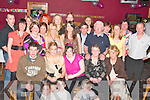 Geraldine Kelly, from Ashgrove, Listowel second from the left celebrated her 40th birthday with family and friends in the Cashen bar ballybunion on Friday night ......   Copyright Kerry's Eye 2008