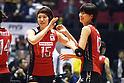 (L to R) Maiko Kano (JPN), Saori Kimura (JPN), November 16,2011 - Volleyball : FIVB Women's World Cup 2011, 4th Round match between Japan 3-0 Kenya at Yoyogi 1st Gymnasium, Tokyo, Japan. (Photo by Daiju Kitamura/AFLO SPORT) [1045]