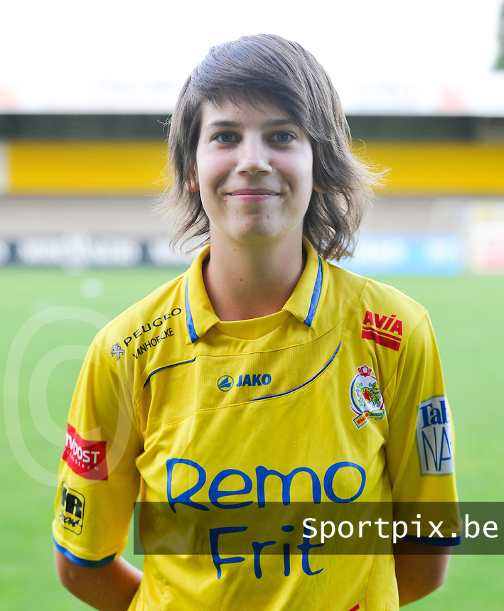 Waasland Beveren Sinaai Girls : Liselot Praet.foto Vrouwenteam.be / David Catry