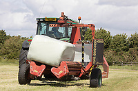 22.5.2020 Contractors wrapping  haylage <br /> ©Tim Scrivener Photographer 07850 303986<br />      ....Covering Agriculture In The UK....