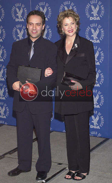 Sam Mendes and Annette Benning