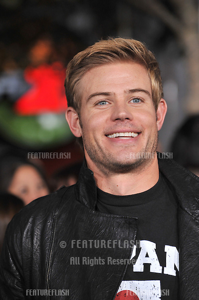 "Trevor Donovan at the world premiere of ""The Twilight Saga: Breaking Dawn - Part 1"" at the Nokia Theatre, L.A. Live in downtown Los Angeles..November 14, 2011  Los Angeles, CA.Picture: Paul Smith / Featureflash"